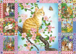 cobble-hill-outset-media-blossoms-and-kittens-quilt-puzzle-1000-teile.81444-1.fs